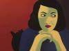 Visite furtive – Marjane Satrapi Peintures