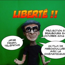 «Jafar Panahi, télépathie» de Marchouillard au Centre Pompidou