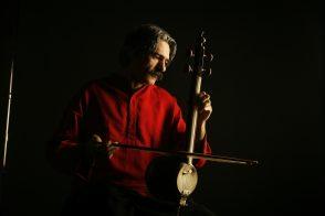 Le joueur iranien de kamancheh, Kayhan Kalhor.
