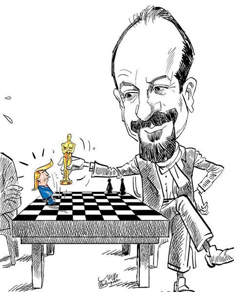 Oscar pour Asghar, Bozorgmehr Hosseinpour