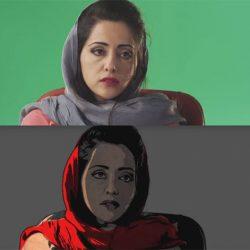 Utilisation de la rotoscopie dans «Téhéran Tabou» (2017) d'Ali Soozandeh