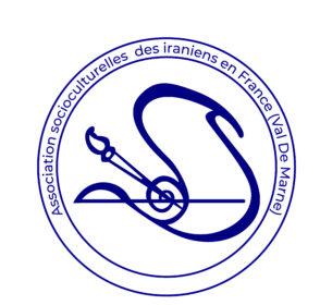 7.. Logo de l'association socio-culturelle des Iraniens de France